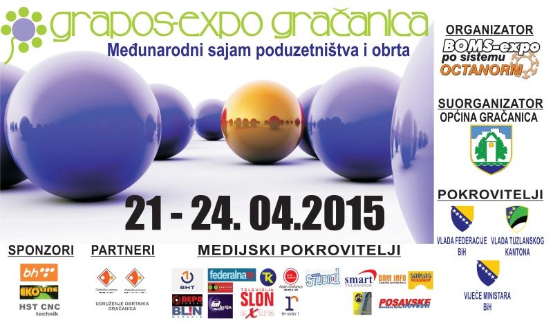 ŠIRBEGOVIĆ NA 6. MEĐUNARODNOM SAJMU PODUZETNIŠTVA I OBRTA GRAPOS-EXPO GRAČANICA 2015